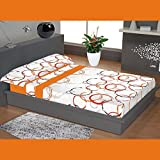 """ADP Home - Juego de sábanas 3 piezas """"manchas"""" (funda de almohada, bajera ajustable y sábana encimera), cama de 135 cm"""