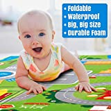 Owme Baby Mat Carpet Baby Double Sided Water Proof Crawl Play Mat Kids