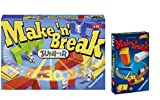 Ravensburger Spiele-Set: 22009 - Make 'n' Break Junior + 23263 - Make 'n' Break Mitbringspiel