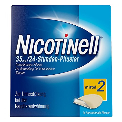 Nicotinell 35 mg 24 Stunden Pflaster, 14 St.
