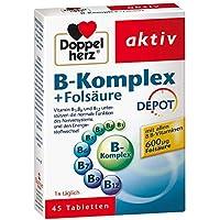 Doppelherz B-komplex + Folsäure Tabletten 45 stk preisvergleich bei billige-tabletten.eu