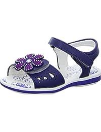 Girlz Only Kinder Sandale Mädchen Blau Weiß