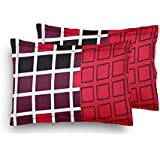 Home Elite Designer Printed Premium Cotton Pillow Covers - Regular Size(17 x 27 inches) - Multicolor - Set of 2