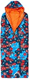 POLER Schlafsack Sleeping Bag Napsack, Blue Steel Floral Fantasia Print, M, POLCSLB_Nap