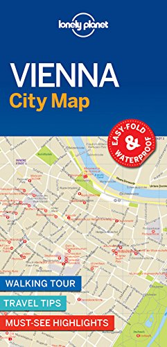 Vienna City Map - 1ed - Anglais par Lonely Planet LONELY PLANET