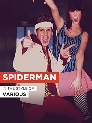Spiderman im Stil von