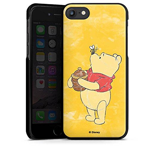 Apple iPhone X Silikon Hülle Case Schutzhülle Disney Winnie Puuh Fanartikel Geschenke Hard Case schwarz