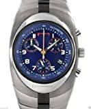 New Pirelli R7953902035 Pzero Gents Chrono Titanium Date Display Watch Blue Dial
