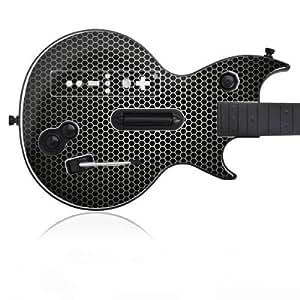 Speed Link Wii Defender Wireless Guitar Design Skin Folie Aufkleber - Speaker Grill