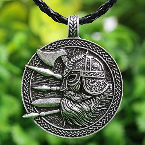 Soilder Kostüm - 1pcs Nordic Viking Anhänger Halskette Nordischen Wikinger Soilder Mit Schwert Und Axt Amulett Anhänger Halskette