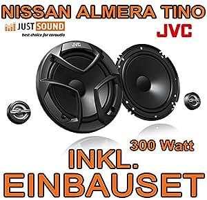 Nissan Almera + Tino - Lautsprecher - JVC CS-JS600 - 16cm Einbauset