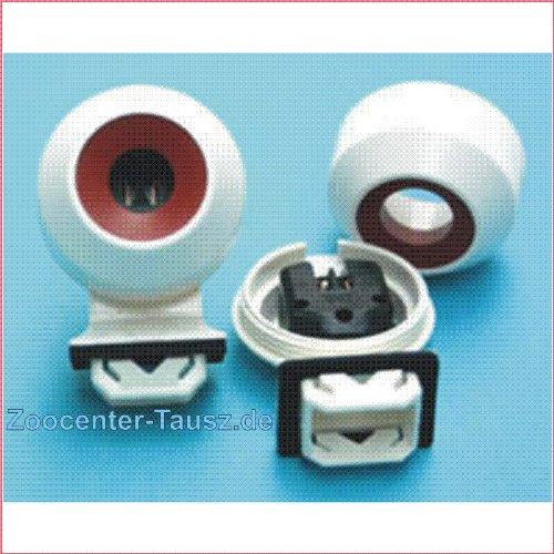 TAB 2 EVG Röhrenfassungen T8/26mm zum stecken für Stanzlöcher 17,5 x 25,5mm