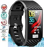 N3 ZELEK Smart Watch Monitor Per La Pressione Sanguigna Fitness Tracker ECG PPG HEART Rate Monitor Impermeabile IP68 Monitoraggio Attività Schermo a Colori Donne Monitoraggio Del Sonno ECG Smartwatch
