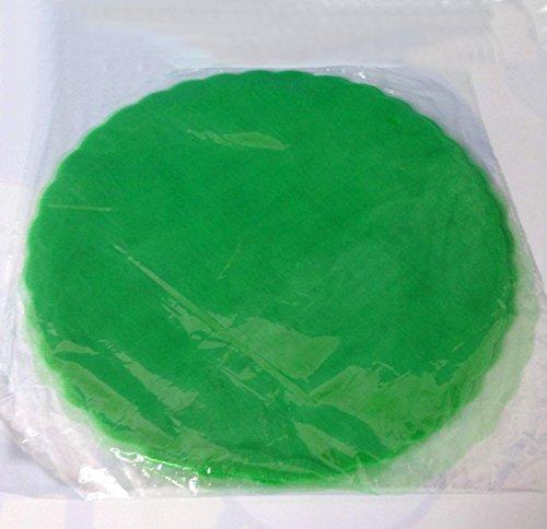 50 tulle velo veletti verde per bomboniere