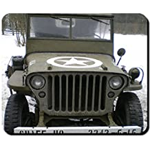 Willys MB US United States Army fuoristrada Oldtimer WK 2 foto – Mouse Pad Computer Laptop PC # 9392
