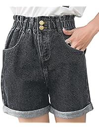 Jeans mit gummizug am beinende damen