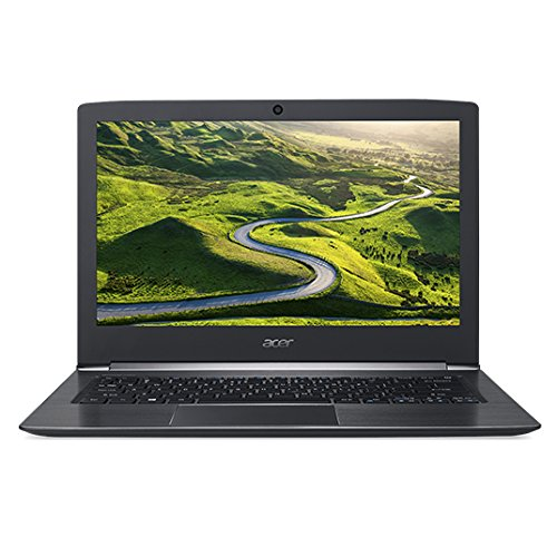 """Acer Aspire S 13 S5-371-757T 2.5GHz i7-6500U Intel® CoreTM i7 della sesta generazione 13.3"""" 1920 x 1080Pixel Nero Computer portatile"""