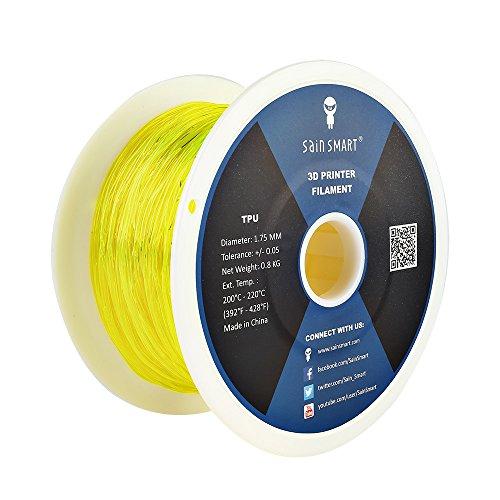 SainSmart 1.75mm flexible de TPU Impresoras 3d Bobina de Filamento
