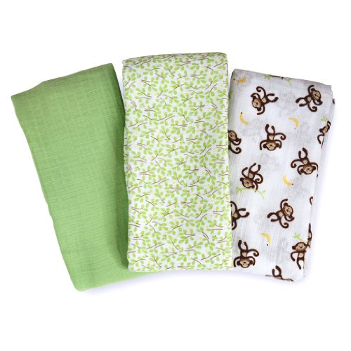 Summer Infant 671304 Swaddle Me Blanket 3 Pack