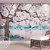 HONGYAUNZHANG Fleurs Épanouies Personnalisé Photo Papier Peint 3D Stéréoscopique Murale Salon Chambre Canapé Toile De Fond Murales,200Cm (H) X 280Cm (W)