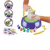 YaeTek Pottery Wheel, Pottery Studio Kit, Juguete Educativo, DIY Juguete con arcilla para niños principiantes para diversión