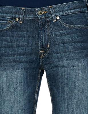 7 For All Mankind SMSJ840NY Slim Men's Jeans New York Dark W38 INxL33 IN