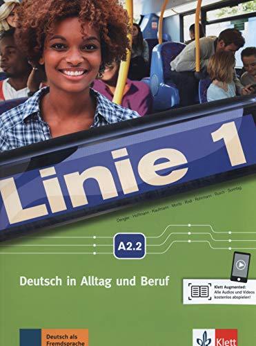 Linie 1 a2.2, libro del alumno y libro de ejercicios + dvd-rom