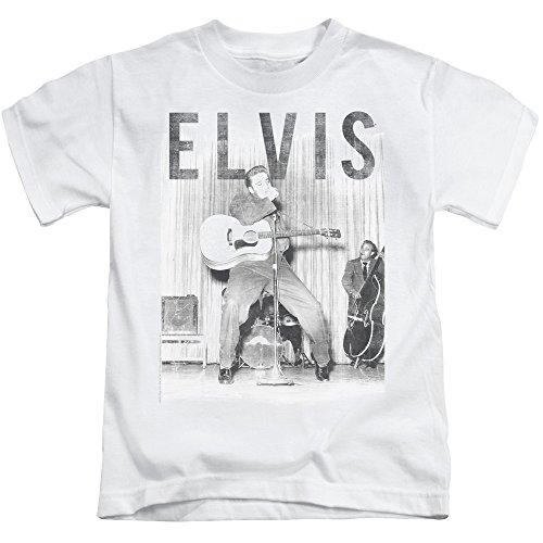 Elvis Presley - - Juvy mit dem Band-T-Shirt White