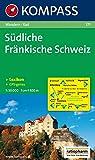 Südliche Fränkische Schweiz: Wander- und Radkarte. GPS-genau. 1:50.000 -