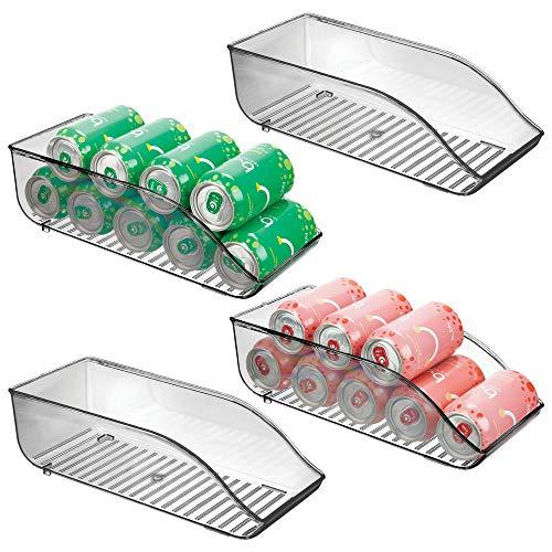 MDesign Juego 4 cajas almacenaje frigorífico armarios