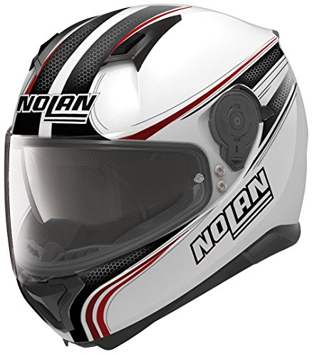 NOLAN N87 RAPID N-COM METAL WHITE M