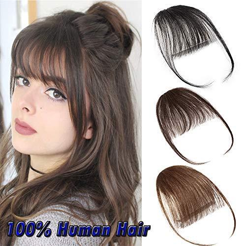 Air Pony Hair Clip In Pony Echthaar 100{34779ed7fa4bcdffa891aa9e89c7a0e73c9ac1c5f27506665fdc284318021e11} Real One Stück Haar Extension mit Seite Tempel #2 Dunkelbraun