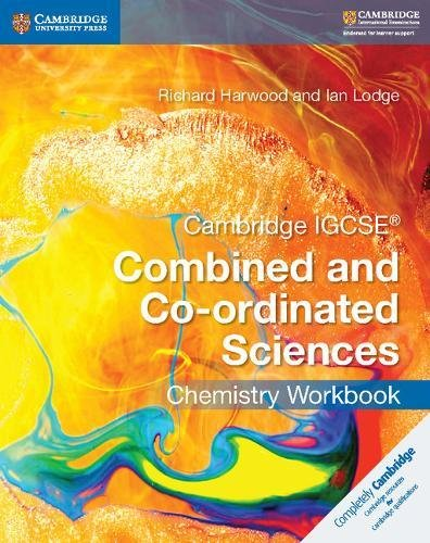 Cambridge IGCSE Combined and Co-ordinated Sciences. Chemistry Workbook (Cambridge International IGCSE) por Mary Jones