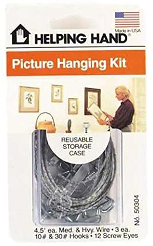 The Faucet Queen FQ50304 Picture Hanging Kit by The Faucet Queen