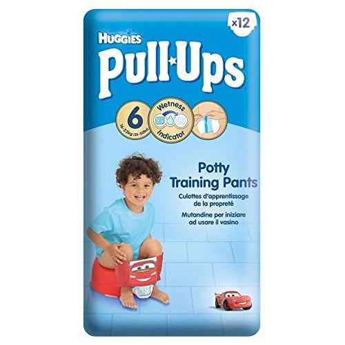 Huggies Flexión De Brazos Pantalones De Esfínteres Para Niños De Tamaño Grande 6 16-23Kg (12)