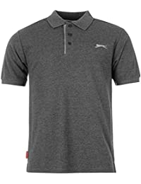Slazenger Men's Short Sleeve Plain Polo Shirt