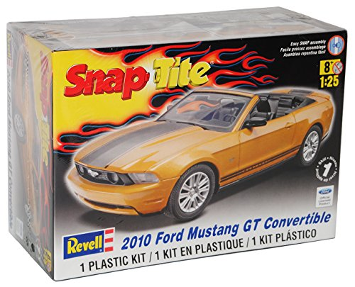 Revell Ford Mustang GT Cabrio Gold 2010 Bausatz Kit 1/25 1/24 Modell Auto (Modell-auto-kits Ford Mustang)
