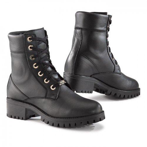 8055W - TCX Smoke WP Ladies Motorcycle Boots 39 Black (UK 6)