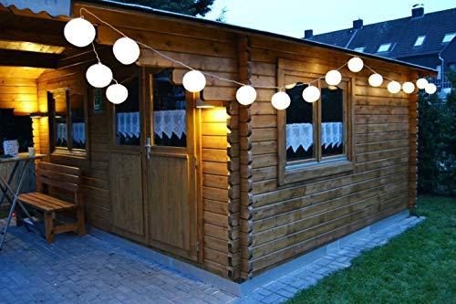 LED Lampion Party lumineuse 20 ampoules LED 5 M Blanc Chaud Chaîne lampions