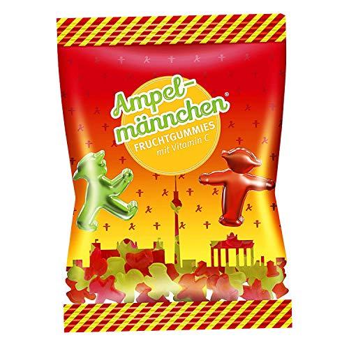 5x200g Fruchtgummis Ampelmännchen - nostalgische DDR Kultprodukte - DDR Produkte