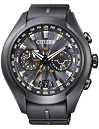 Citizen Promaster Sky -  Satellite Wave - Air - Reloj de cuarzo para hombre, correa de goma color negro