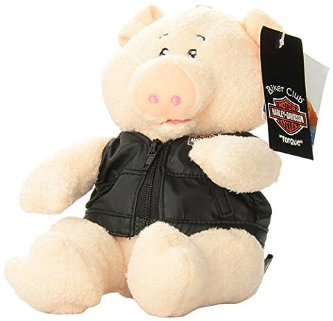 Harley-Davidson Biker Club Torque Pig Bean Bag Toy by Kids Preferred