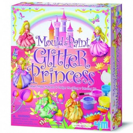 Barrutoys KIT MODELING AND PAINTING brand 4M to manufacture MAGNETS, PRINCESS PINS Crafts Children + 5 years