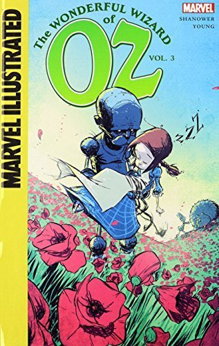 The Wonderful Wizard of Oz by Shanower, Eric (2014) Library Binding