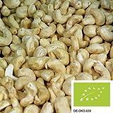 1kg Bio Cashewkerne - Ganze Cashew Nüsse unbehandelt und ohne Zusätze aus kontrolliert biologischem Anbau