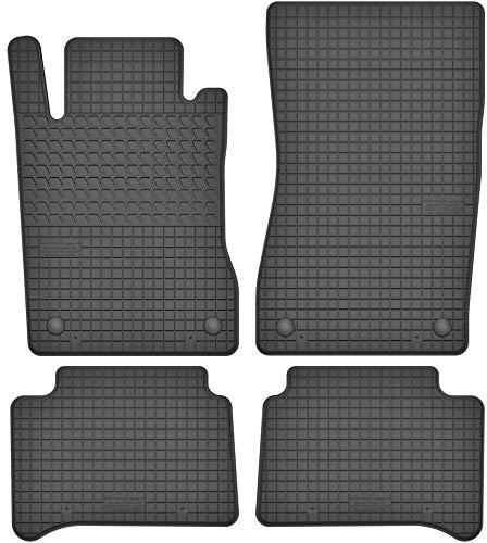 Motohobby Gummimatten Gummi Fußmatten Satz für Mercedes-Benz E-Klasse W211 / CLS C219 (2002-2009) - Passgenau