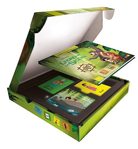 El libro de la selva - Cuento con pictogramas / Editorial GEU / Facilita y fomenta la lectura / A partir de 3 años / Con tarjetas ilustradas en alta calidad
