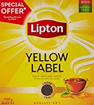 Lipton Yellow Label Black Loose Tea, 700 gm