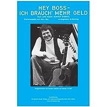 Hey Boss, ich brauch mehr Geld: as performed by Gunter Gabriel, Single Songbook