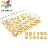 JoyGlobal 24 Piece Cookie Cutting with S...